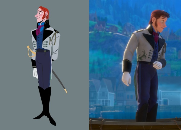 """FROZEN"" Hans visual development art. ©2013 Disney. All Rights Reserved."